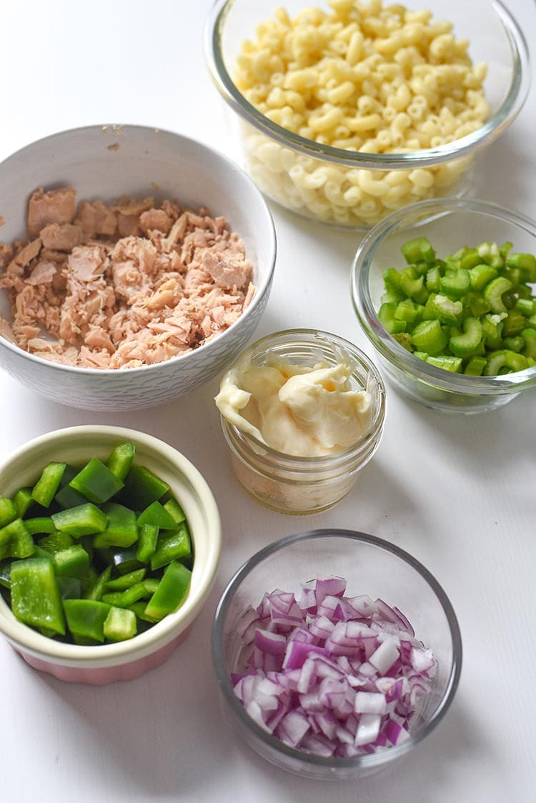 how to make tuna macaroni salad