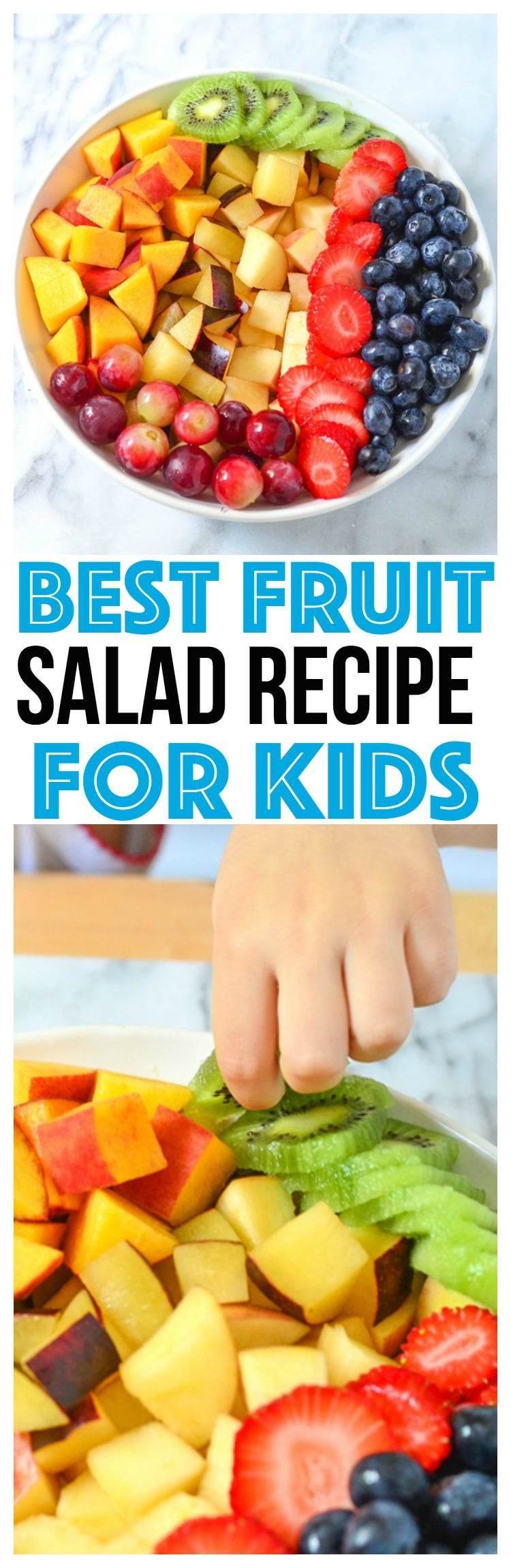 The Best Fruit Salad Recipes for kids are one they will eat! Easy Fruit Salad recipes are the best, serve fruit salad recipe with yogurt