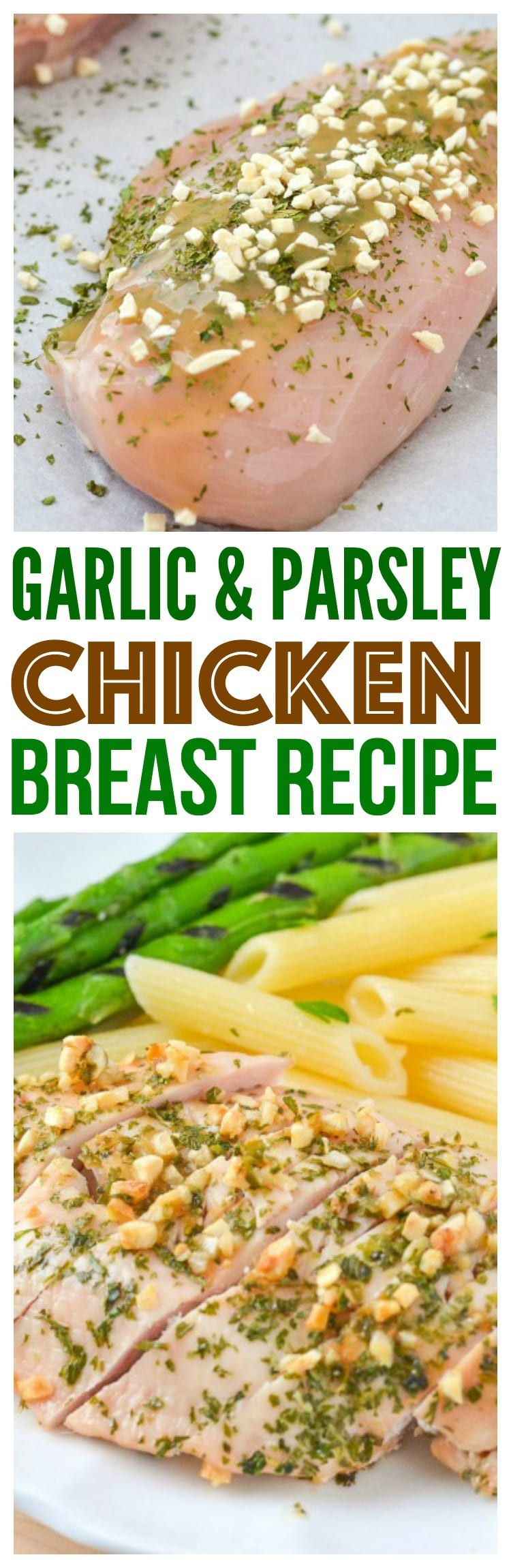 tender chicken breast recipes healthy easy baked in the oven healthy chicken dinner with garlic parsley pasta and seasoned grilled asparagus