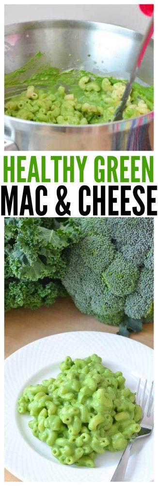 healthy mac and cheese recipe for kids green mac and cheese vitamix recipes clean eating recipes st. patrick's day recipes for kids dinner