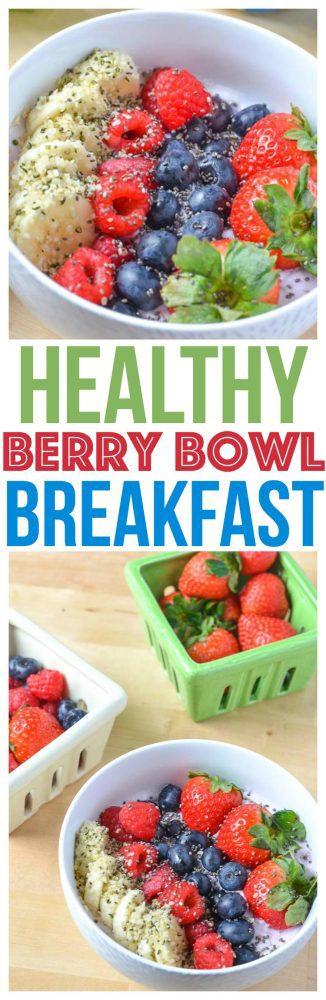 breakfasts bowls healthy recipe yogurt breakfast
