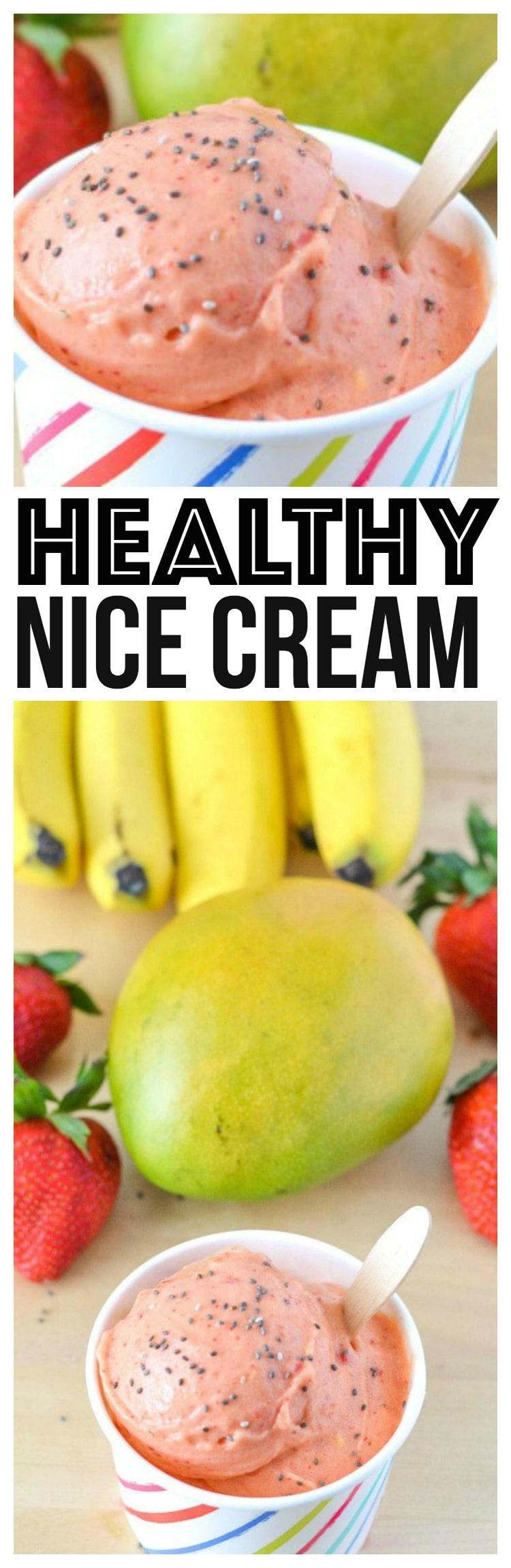 strawberry mango banana smoothie turned nice cream recipe vegan nice cream recipes are healthy and nice cream recipes bananas are used most