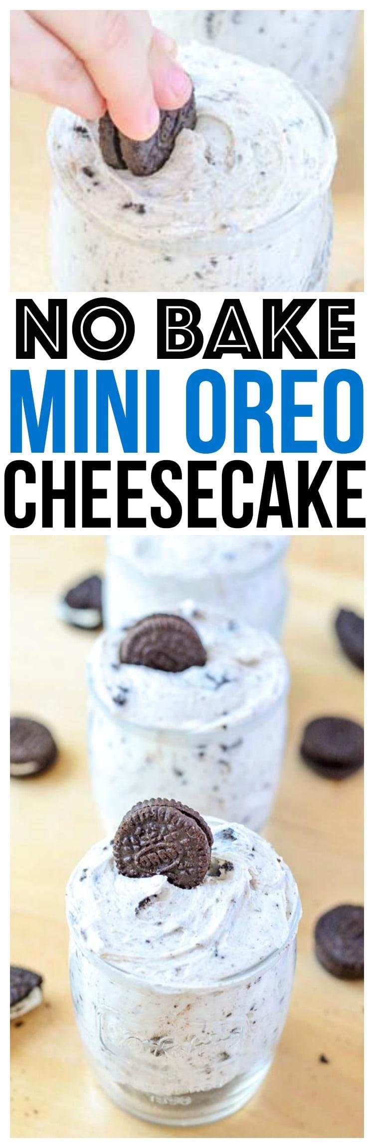 no bake oreo cheesecake easy dessert recipe one of our favorite cheesecake recipes and no bake oreo dessert