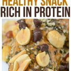 Chocolate Peanut Butter Banana post workout snacks protein packed snacks healthy recipes clean eating recipes clean eating for beginners