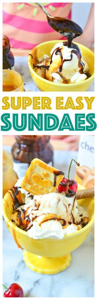 Learn the secret to the best ice cream sundae kid friendly recipe and ice cream sundae bar ideas for kids! easy dessert recipes for parties