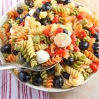 tri color pasta salad mini chef mondays cold pasta salad recipe tri color rotini pasta recipes pasta salad with italian dressing easy