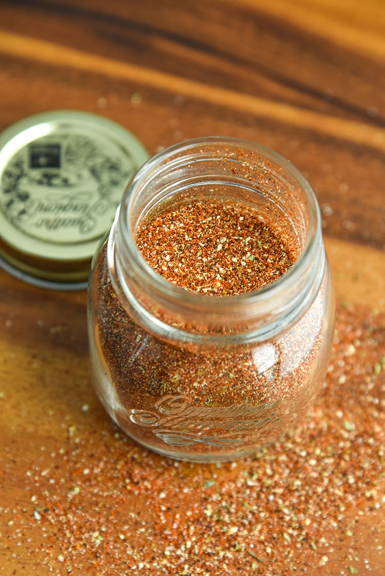 Make your own homemade fajita seasoning recipe instead of using a seasoning packet! It's perfect for chicken fajitas, steak fajitas, shrimp fajitas, or even vegetarian fajitas.