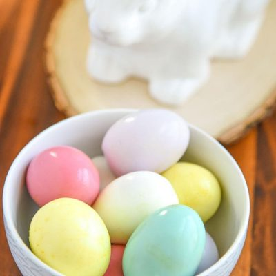 Dyeing Easter Eggs is so much fun and with our Homemade Easter Egg Dye you can dye the actual egg instead of the shell! Kid friendly Recipe anytime, not just Easter!