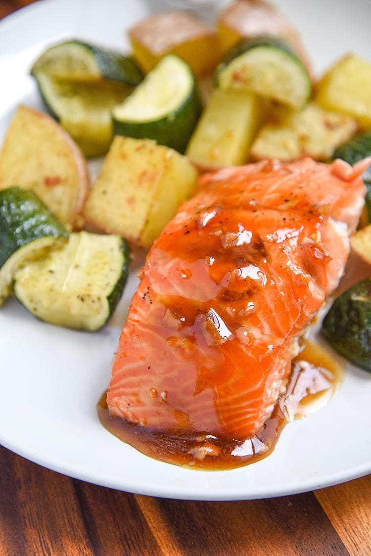 maple glaze salmon recipe