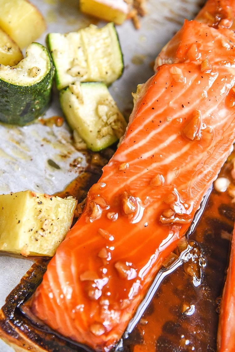 Maple Salmon Recipe - Courtney's Sweets