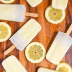 Fresh Lemonade Popsicles are a fun dessert recipe for kids and parents. Make this ice pops recipe with fresh ingredients for a tasty summer treat.