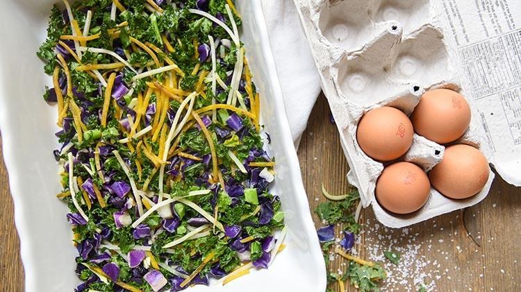 Healthy Breakfast Bake Prep