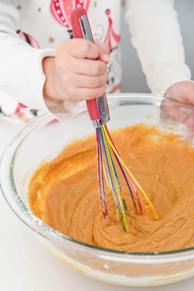 Pumpkin Cupcakes Batter