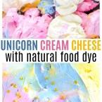 Unicorn Cream Cheese Spread Pinterest