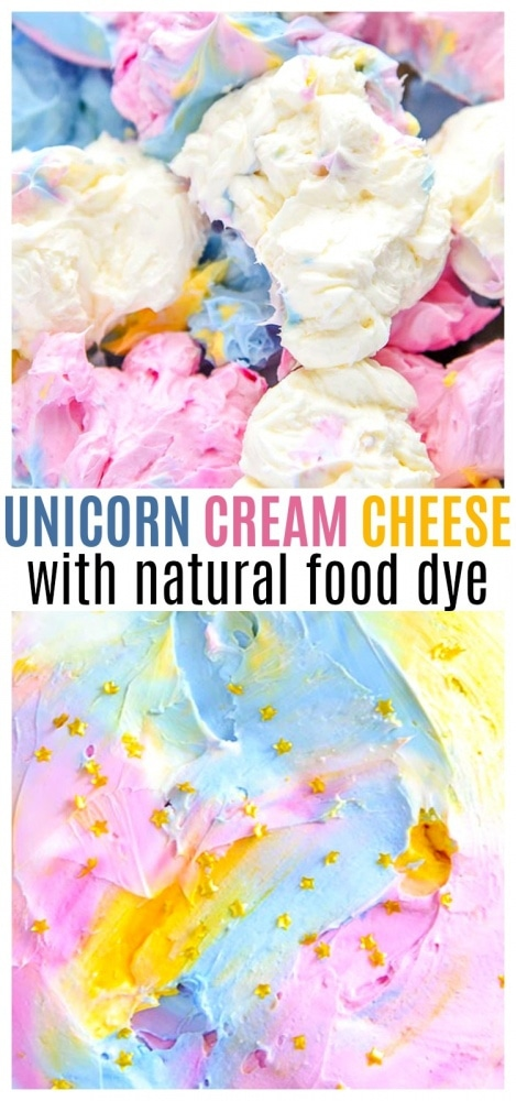 Unicorn Cream Cheese Spread Pinterest
