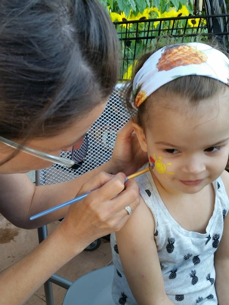 Samsung Galaxy S6 Photos Face Painting Whole Foods