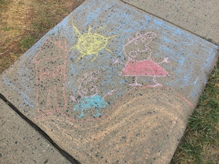 Samsung Galaxy S6 Photos Sidewalk Chalk