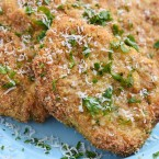 Parmesan Crusted Pork Chops Dinner