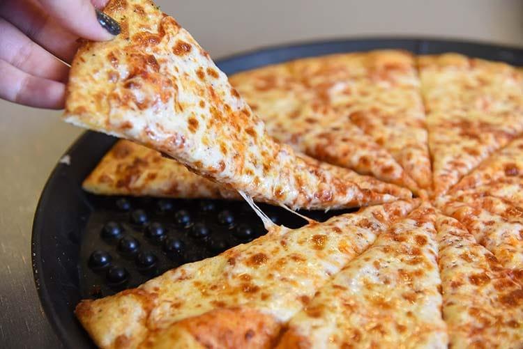 Pizza at Chuck E. Cheese's