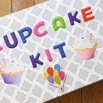 DIY Cupcake Kit – Cereal Box Project