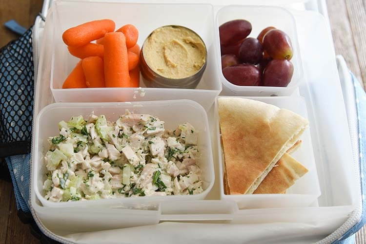 Easy Chicken Salad Recipe for Back to School with PackIt