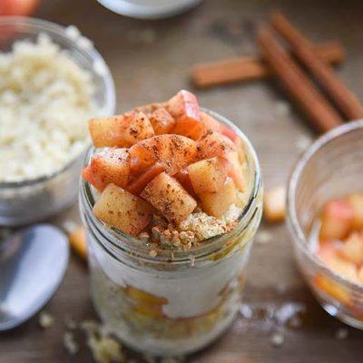Homemade Apple Cinnamon Quinoa Parfaits