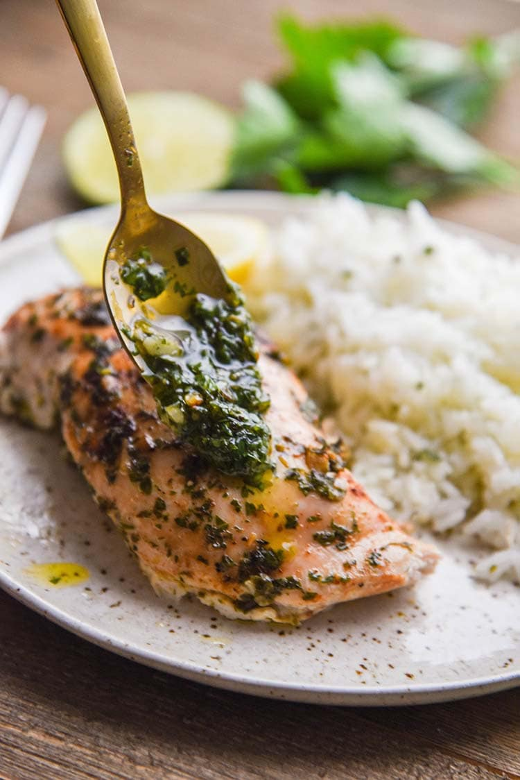 Homemade Chimichurri Chicken recipe