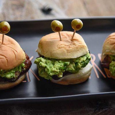 Halloween Appetizer Sliders