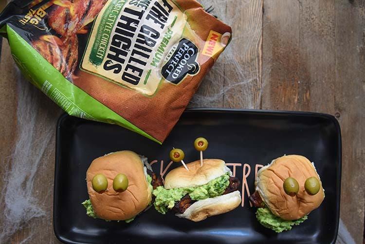 Halloween Appetizer Sliders Fun with Food