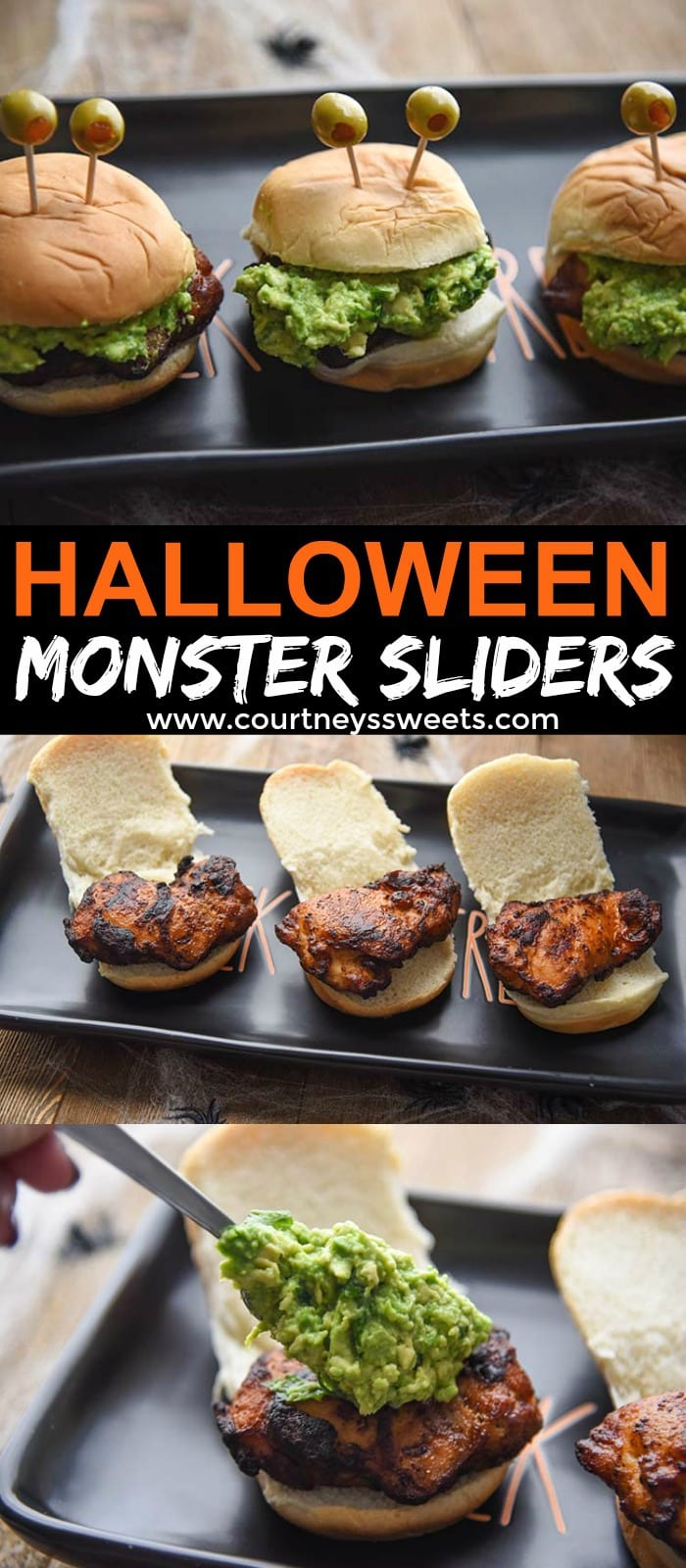 halloween monster sliders