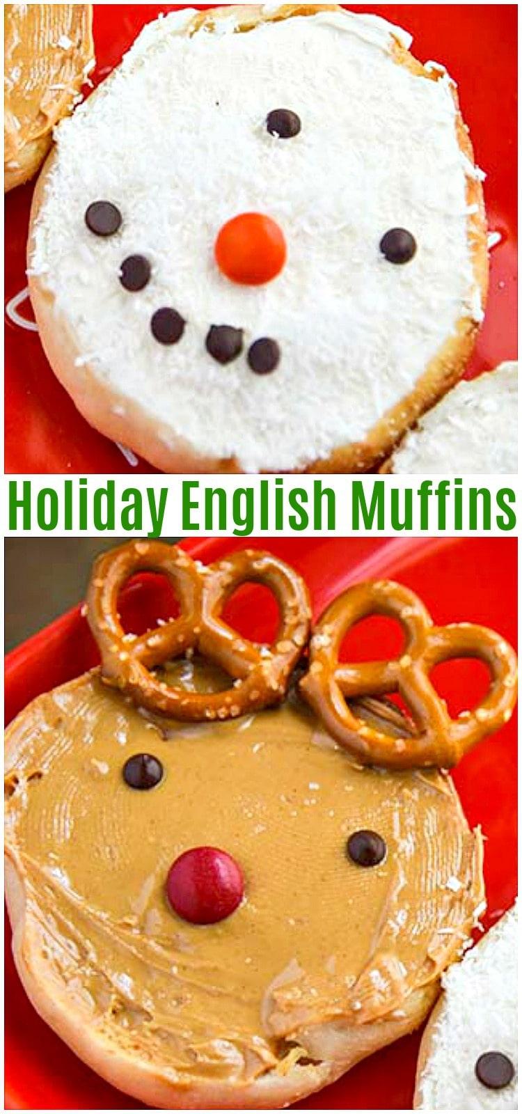 holiday english muffins