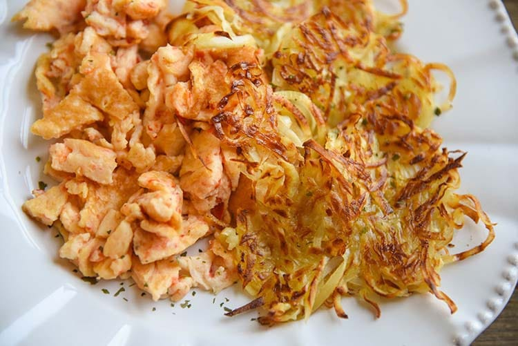 Sweet Potato Hash Brown Spiralizer Recipe Breakfast