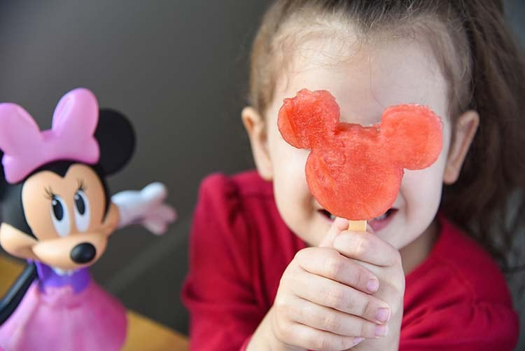 Minnie Mouse Watermelon Pops Silly