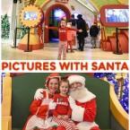 pictures with Santa at Santa's HQ
