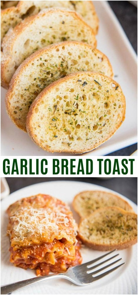 garlic bread toast recipe easy