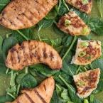 Irish Boxty with Grilled Chicken