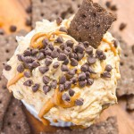 Chocolate Peanut Butter No Bake Cheesecake Dip