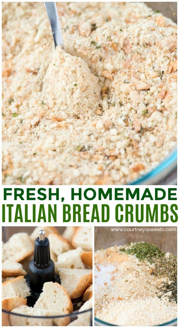 homemade italian bread crumbs
