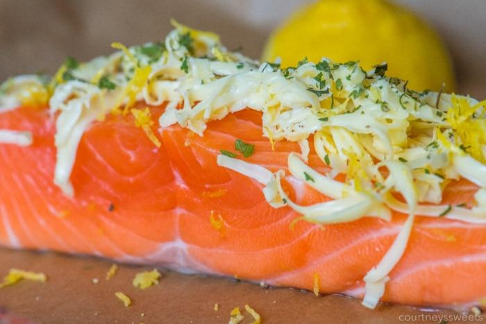 salmon butter lemon