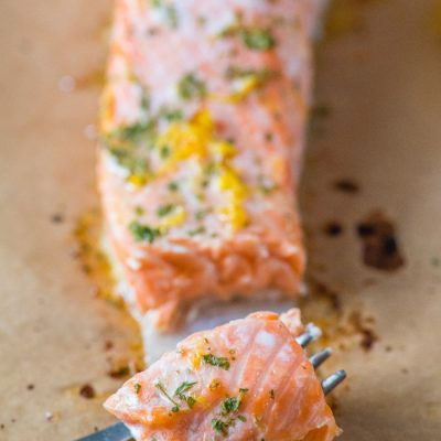 lemon butter sauce for salmon