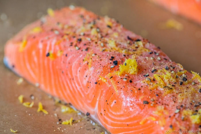 lemon pepper salmon -how to season salmon