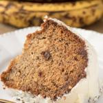 Banana Bundt Cake with Cream Cheese Glaze