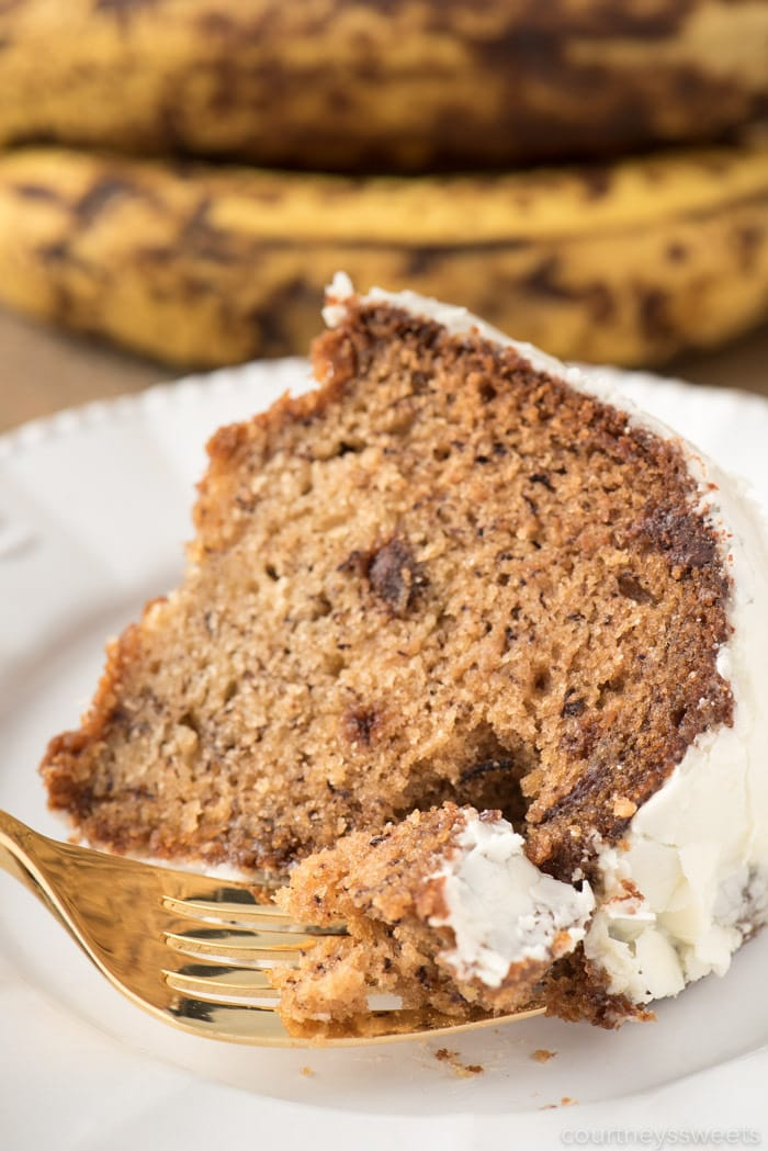Banana Chocolate Chip Bundt Cake