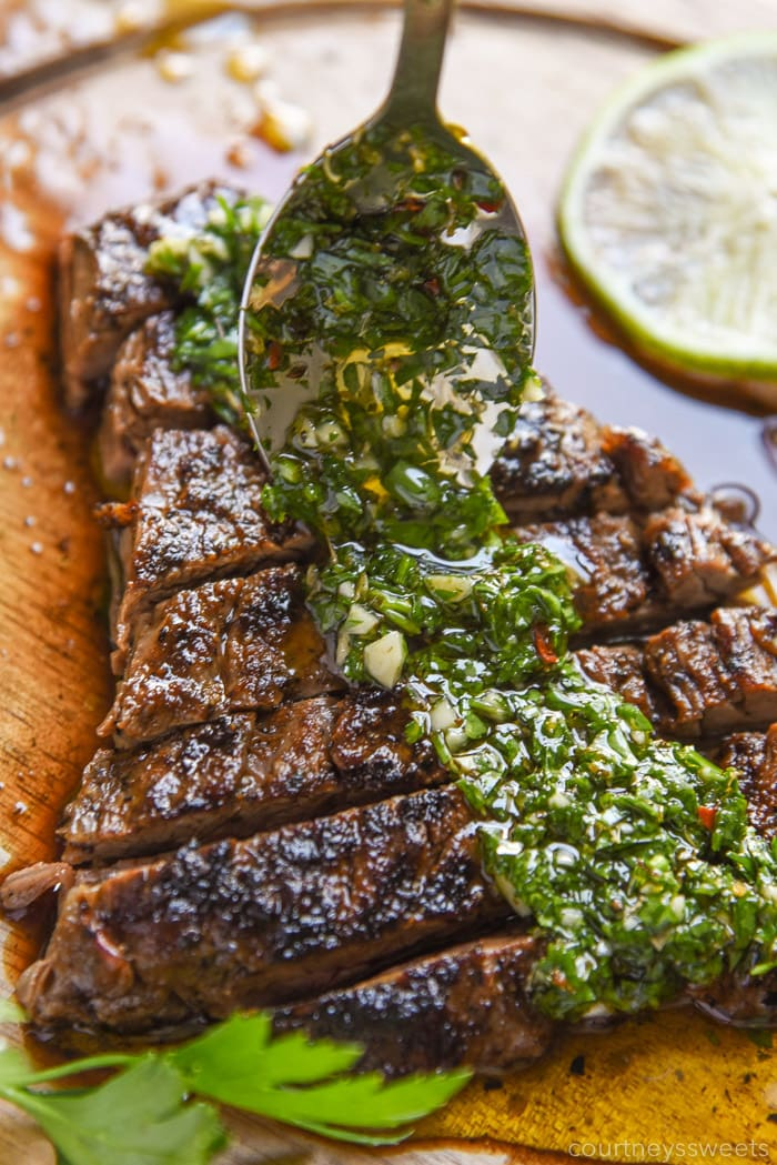 chimichurri sauce for steak