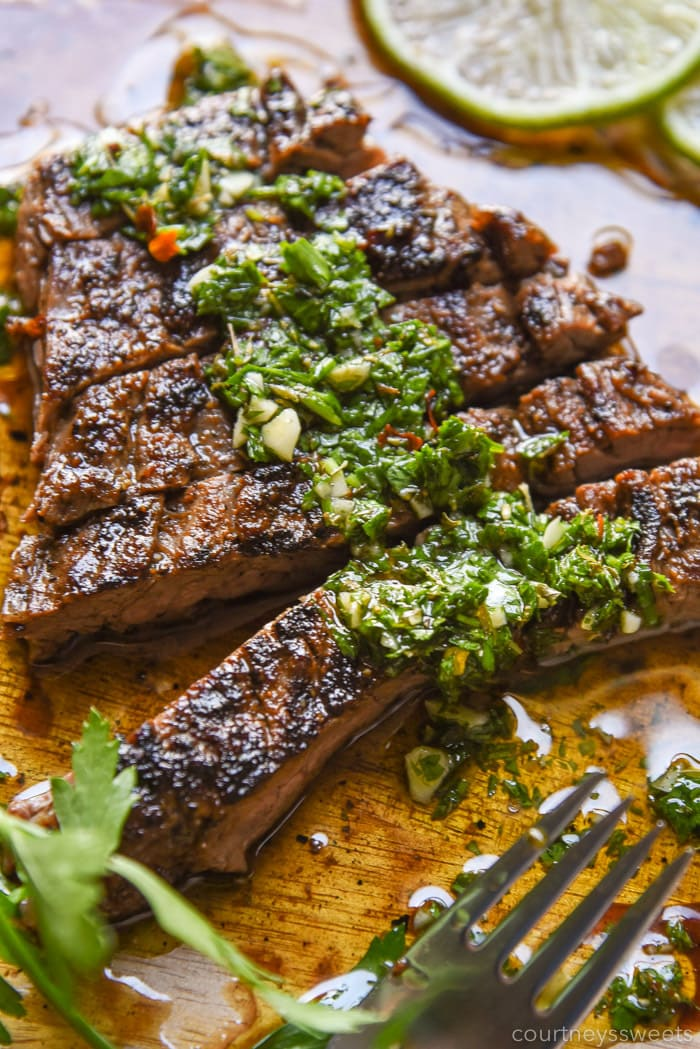 chimichurri steak recipe