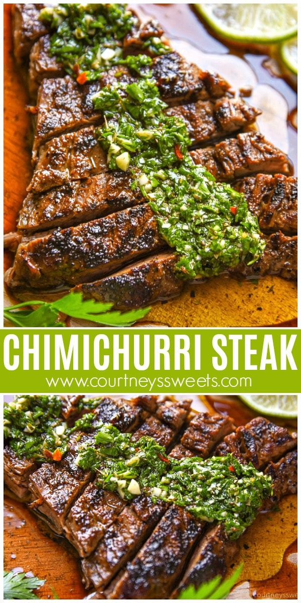 grilled chimichurri steak recipe