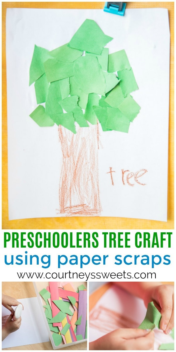 tree craft for preschoolers pin
