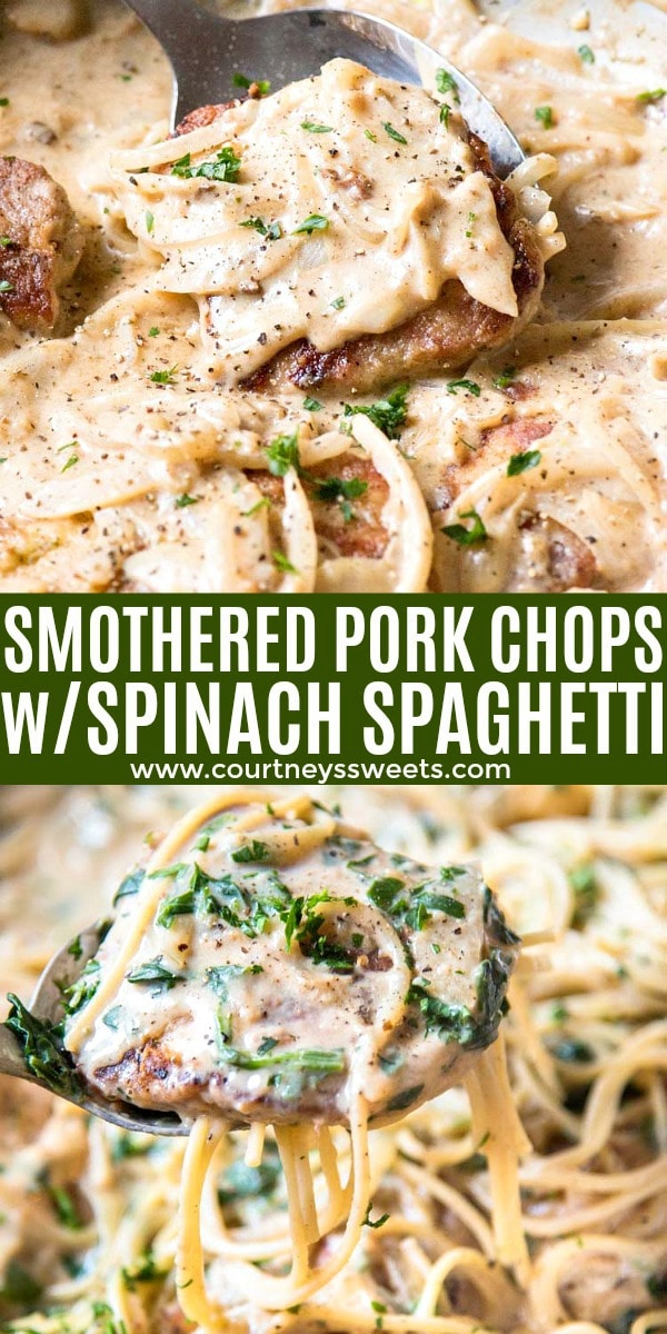 smothered pork chops pinterest