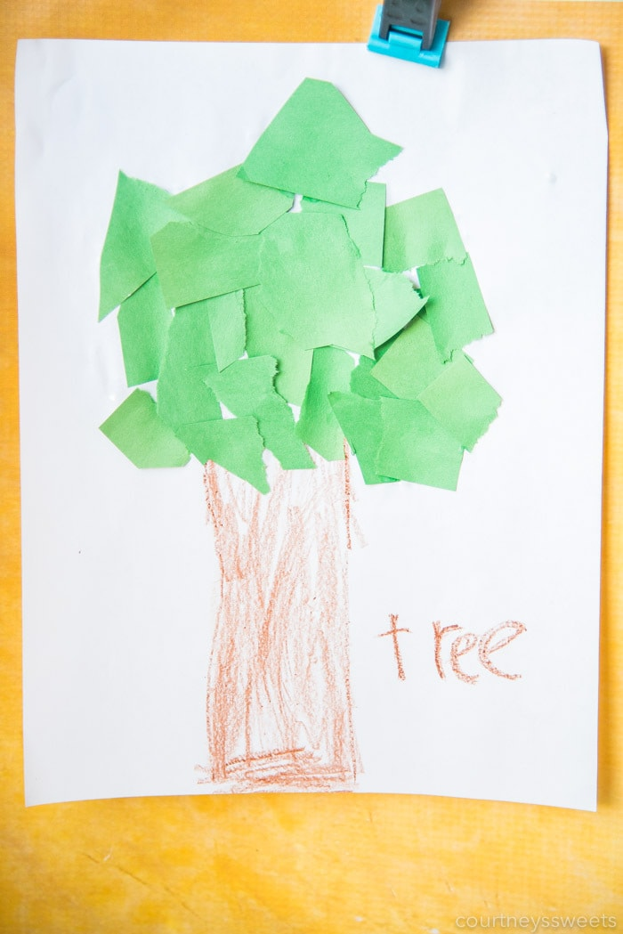 tree craft for preschoolers