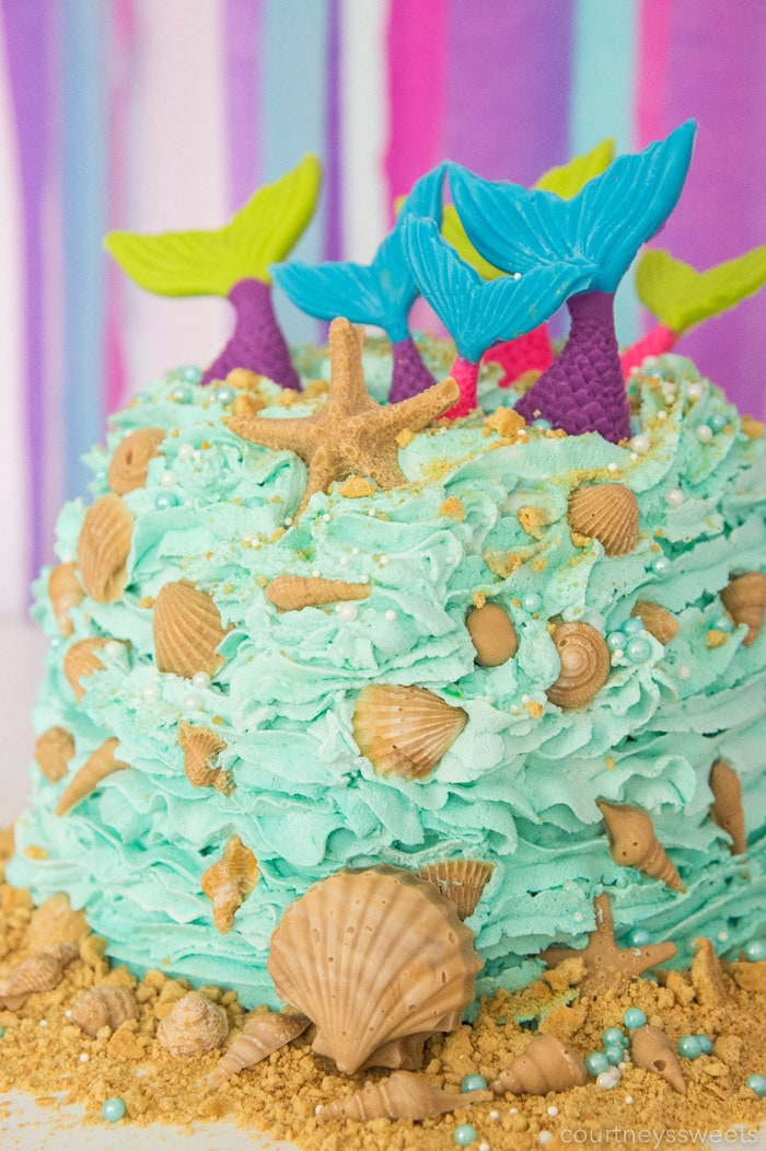 easy mermaid cake